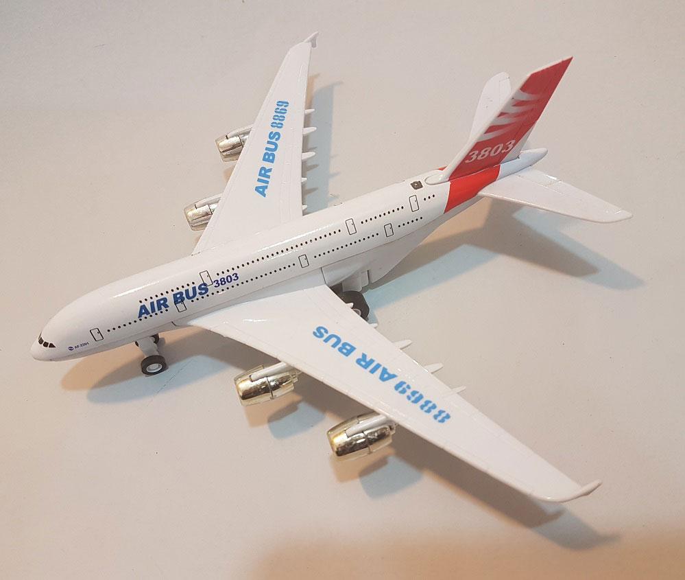 هواپیما ایرباس فلزی مدل 3803