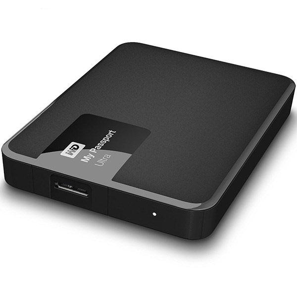 هارددیسک وسترن دیجیتال اکسترنال مدل مای پاسپورت Ultra Premium ظرفیت 1 ترابایت