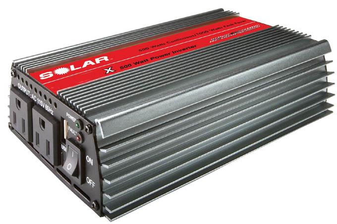 اینورتر برق خودرو - مبدل 12 ولت به 220 ولت