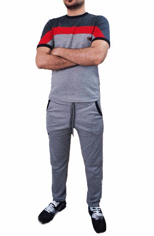 ست تیشرت و شلوار مردانه مدل RENALDO