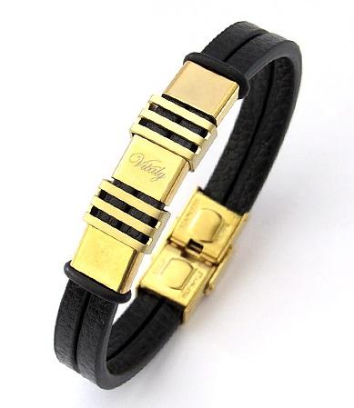 دستبند چرم طرح ویتالی