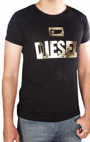 تیشرت مردانه DIESEL مدل GOLD