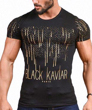 تیشرت مردانه Black Kaviar