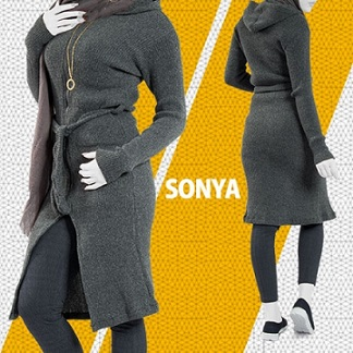 مانتو بافت Sonya