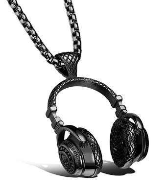 گردنبند لاکچری طرح هدفون Luxurious HeadPhone Necklaces