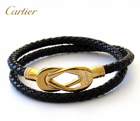 دستبند چرم کارتیر Cartier Leather Bracelets