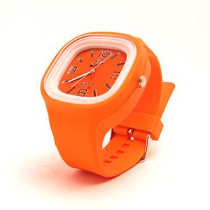 ساعت مچی ژله ای نارنجی
