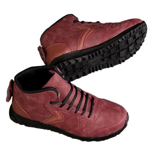 کفش مردانه ساق دار Ecco مدل Paramata (جگری)