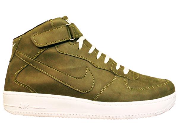 کفش مردانه ساق دار NIKE مدل FORCE (سبز)