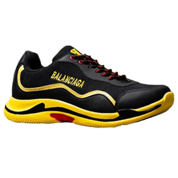 کفش مردانه Balanciaga مدل K1073 (مشکی زرد)