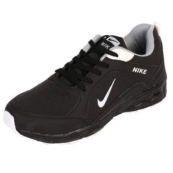 کتونی سایز بزرگ Nike مشکی مدل Chalenge