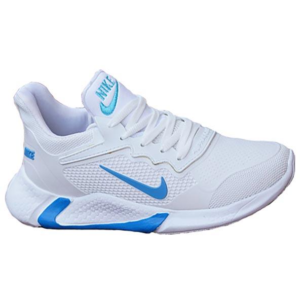 کفش مردانه مدل adrian (سفید آبی)