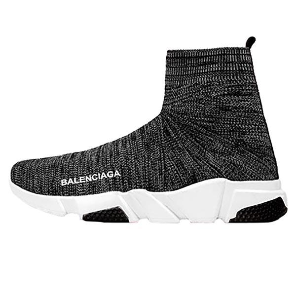 کفش ساقدار مردانه Balenciaga خاکستری